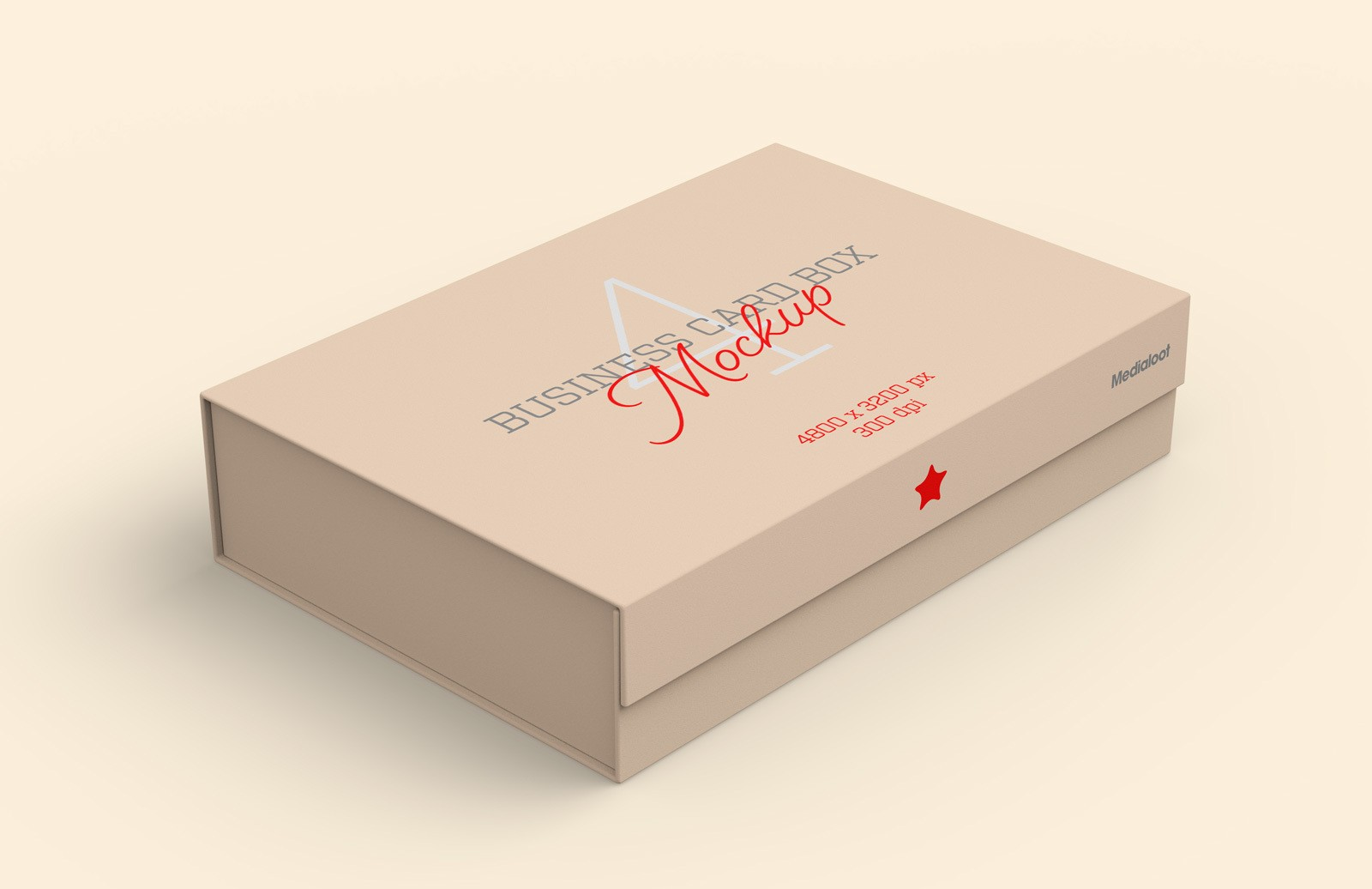 Business Card Box Mockup Preview 1