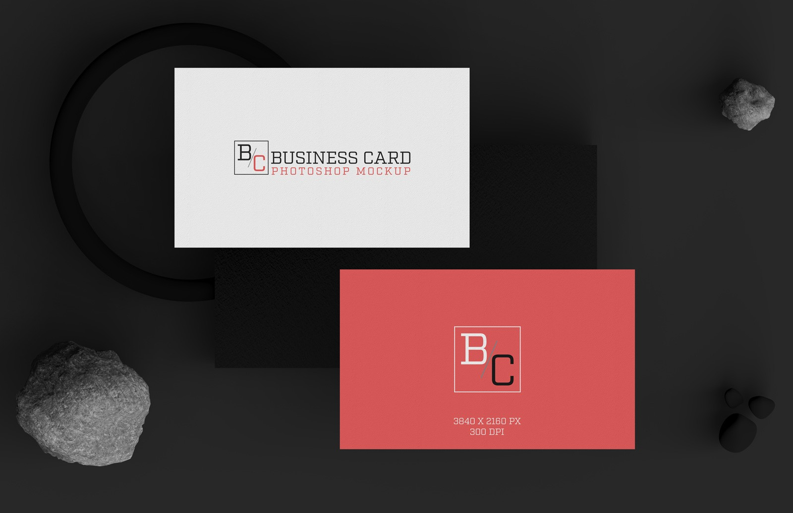 Business Cards Mockups Preview 1B