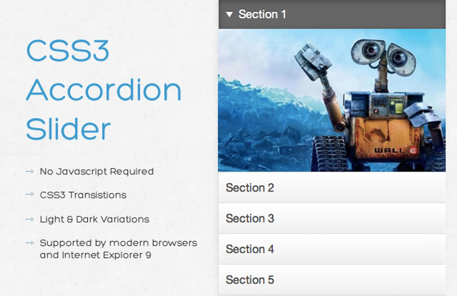 Css3  Accordion  Slider  Preview1