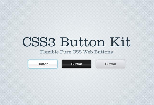 CSS3 Button Kit