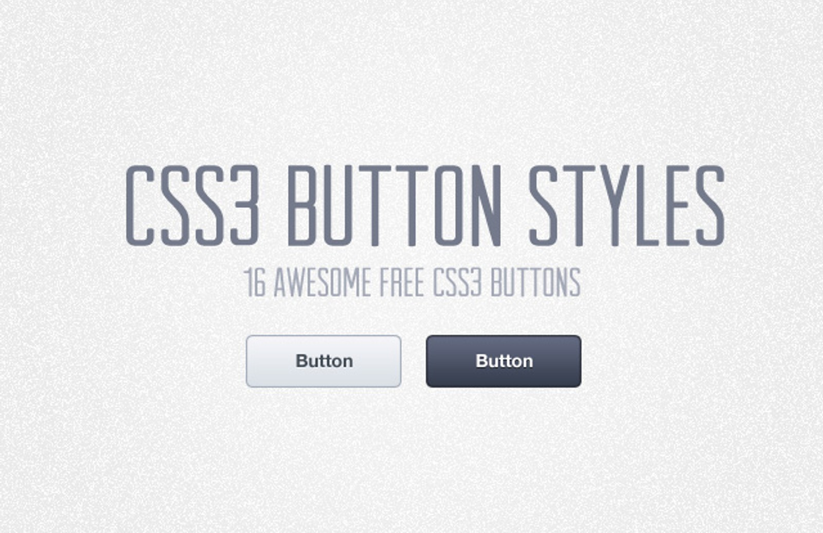 Css3  Button  Styles  Preview1