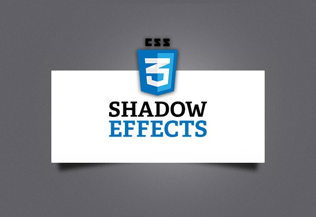 CSS3 Shadow Effects