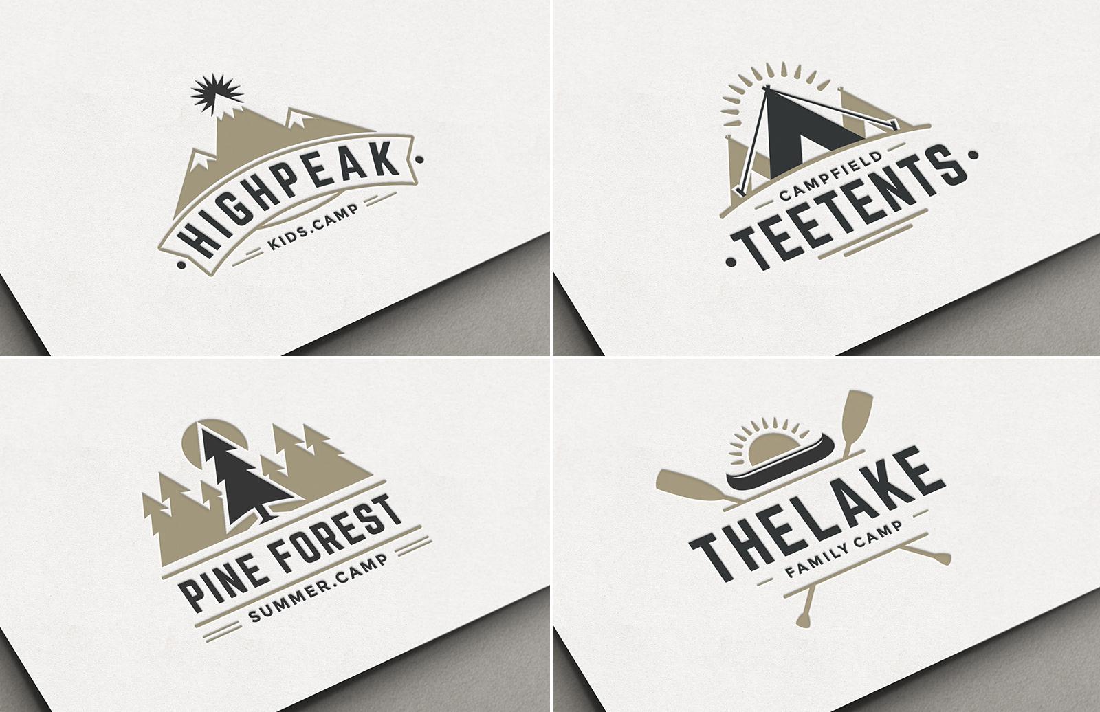 Camp Logo Templates
