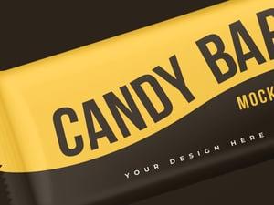 Candy Bar Wrapper Mockup 2