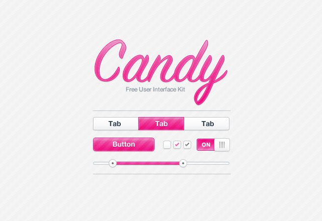Large Candy  Ui  Kit  Preview11