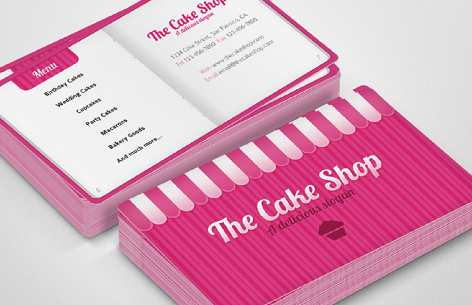 Sample Business Cards For Cakes Image collections - Card Design ...