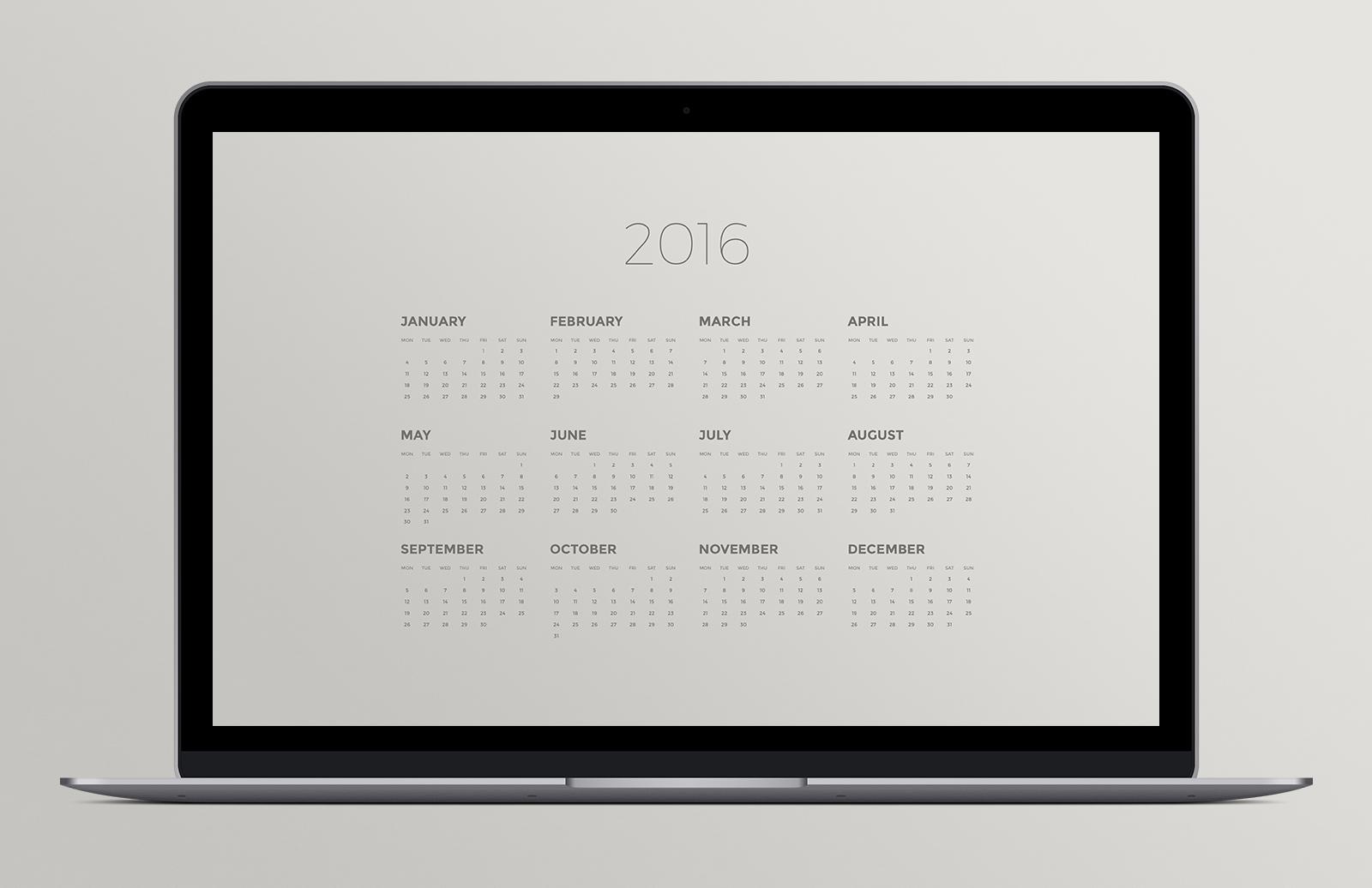 Calendar  Desktop  Background  Pack  Preview 1