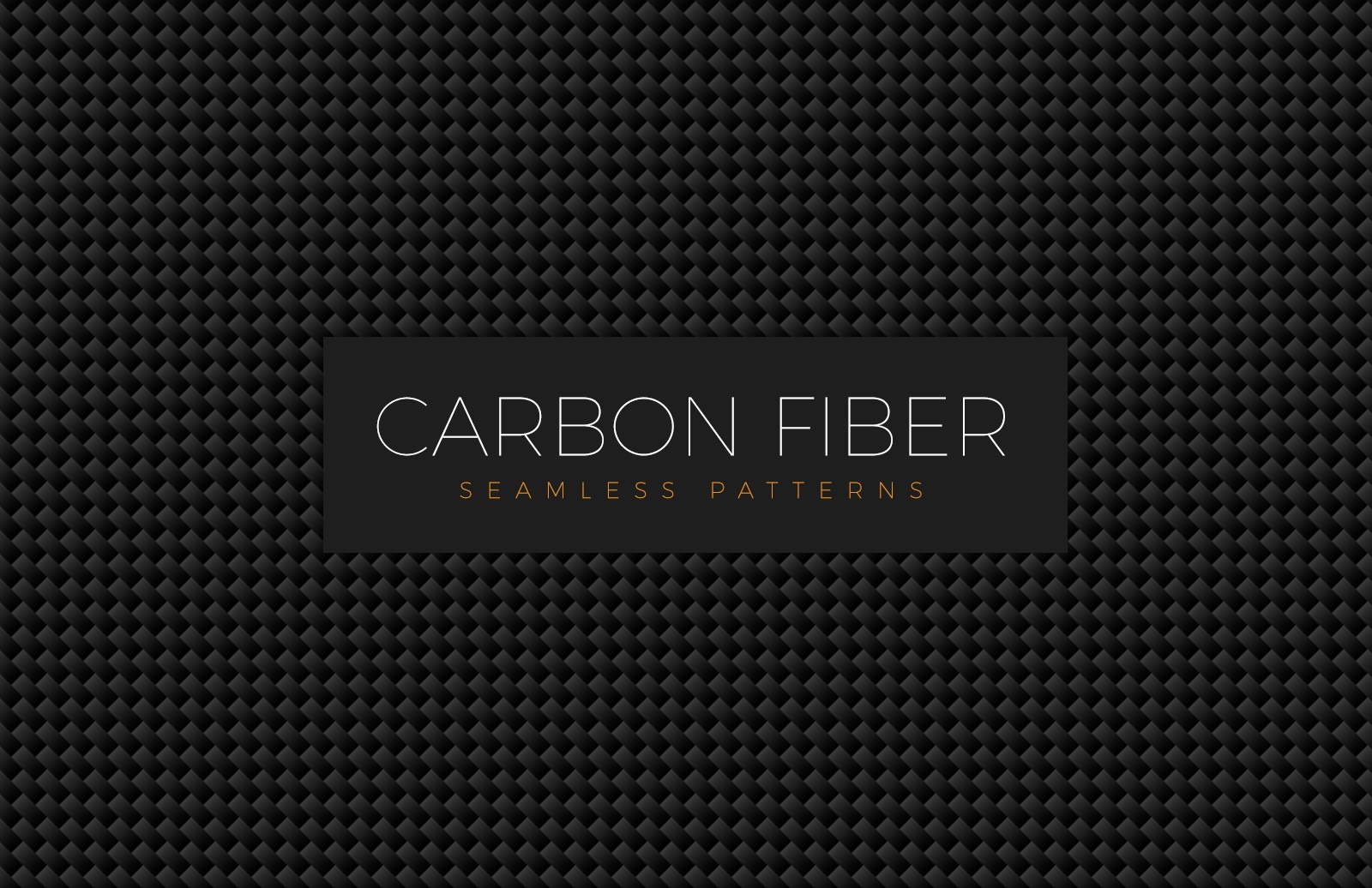 Seamless Carbon Fiber Patterns