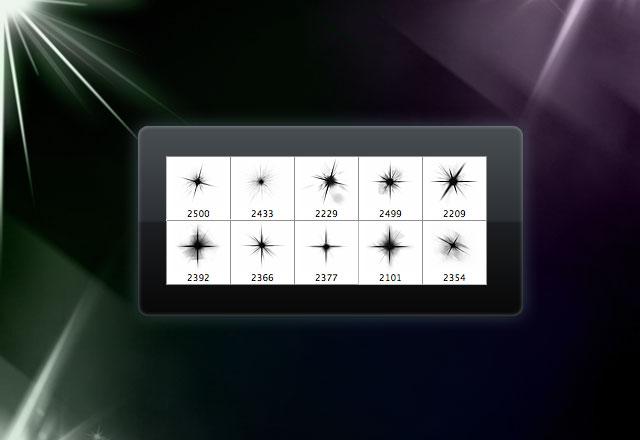 10 Celestial Star Brushes