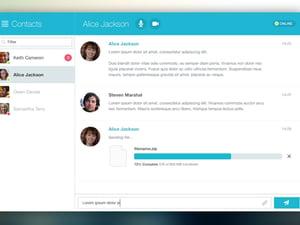 Chat Window App UI 1
