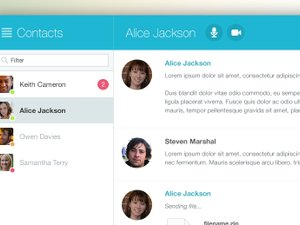 Chat Window App UI 2
