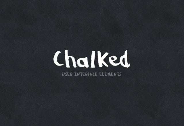 Chalked UI Kit 2
