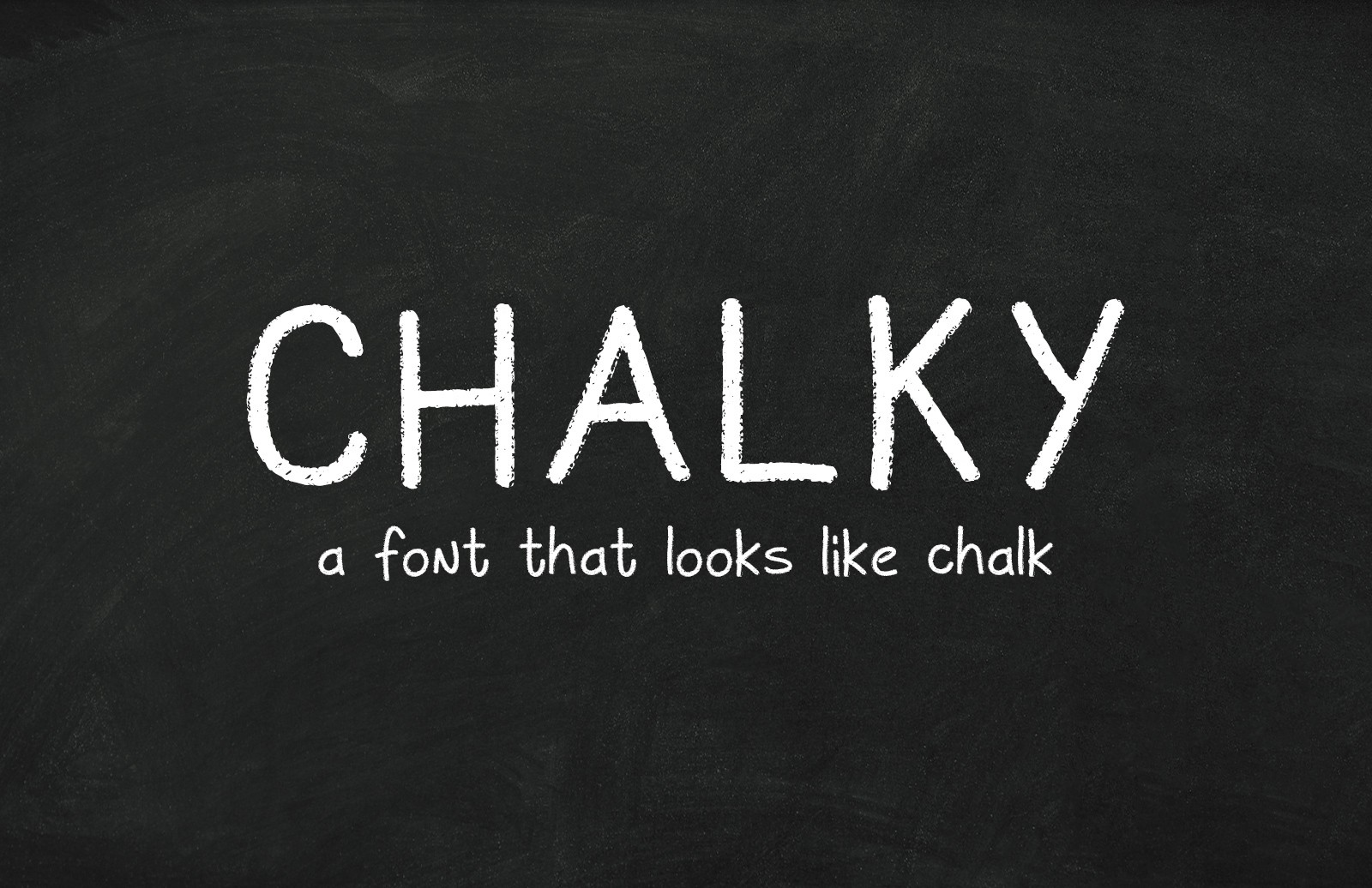 Chalky Font Preview 1