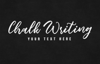 Chalk Writing Text Effect