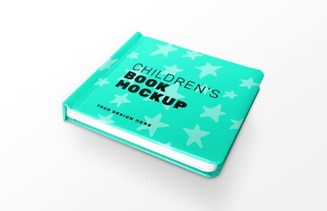 Free Children's Book Cover Mockup