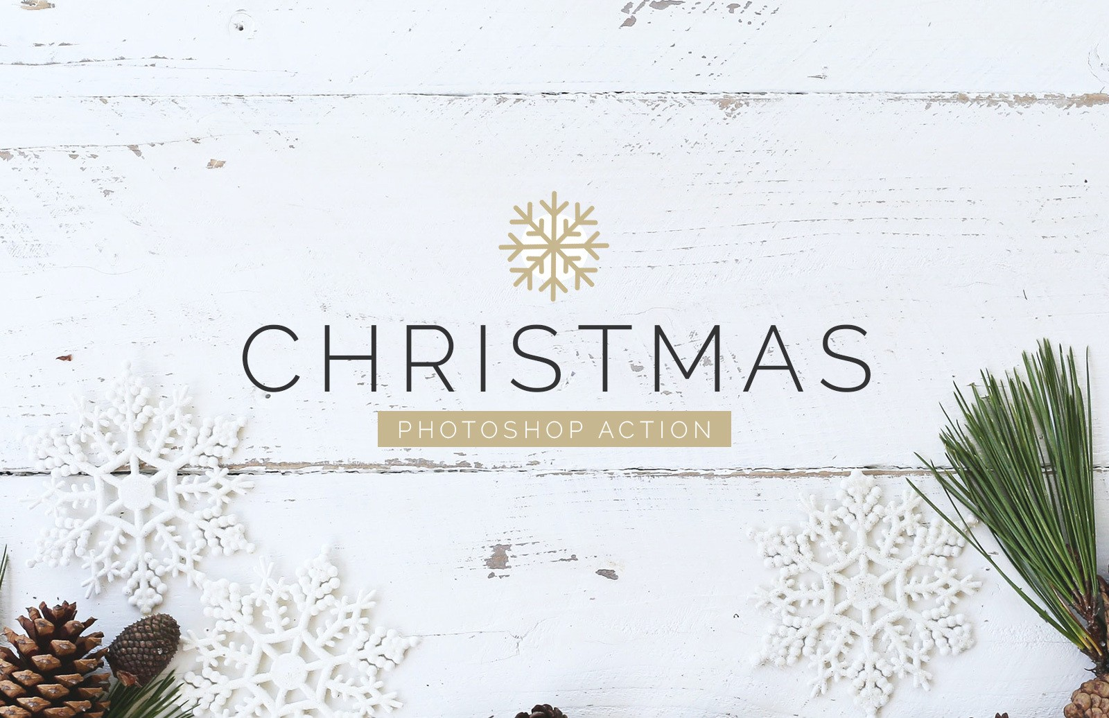 Christmas Photoshop Action Preview 1