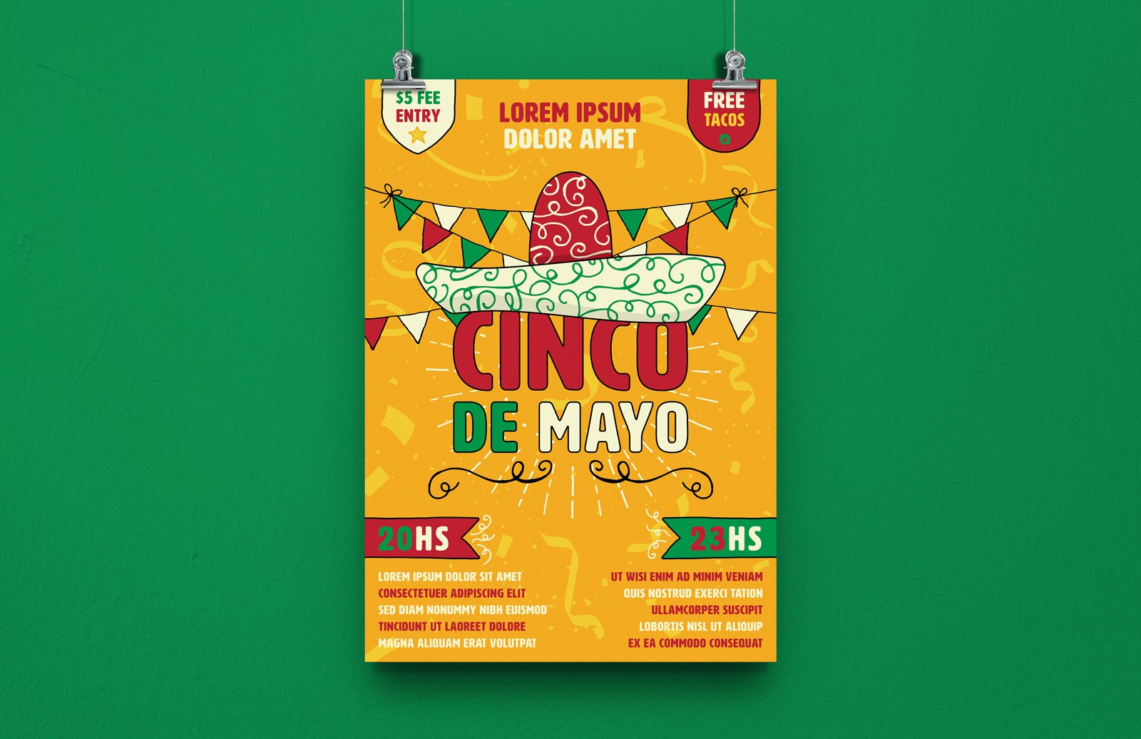 Cinco De Mayo Poster Preview 1