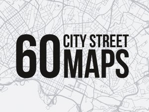 60 Vector City Street Maps (SVG) 1
