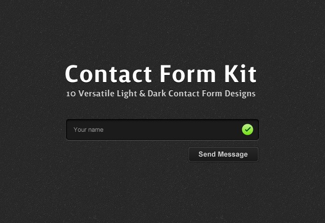 Contact  Form  Kit  Preview1