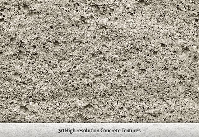 30 High-Res Concrete Textures