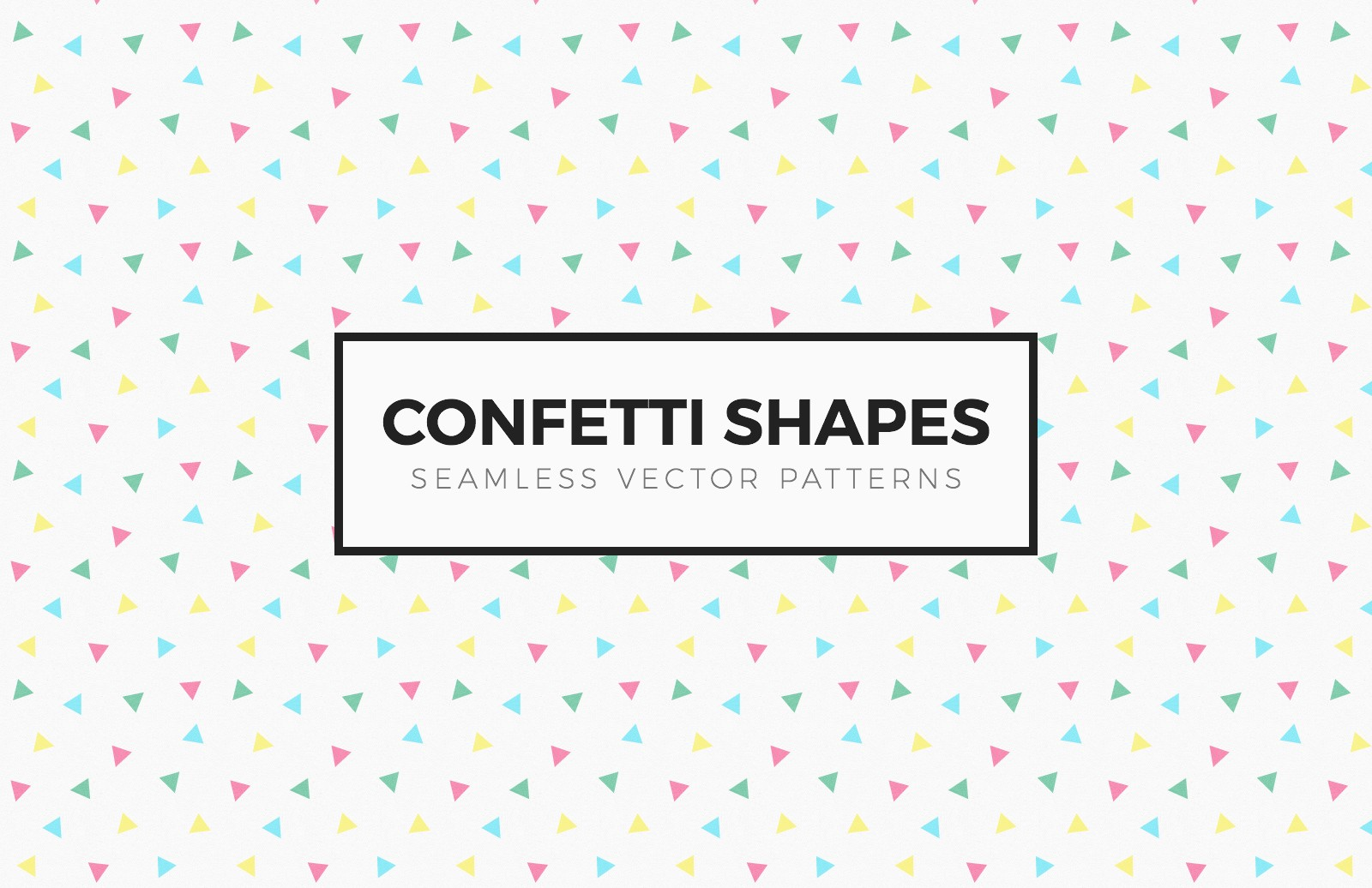 Confetti  Shapes  Seamless  Patterns  Preview 1