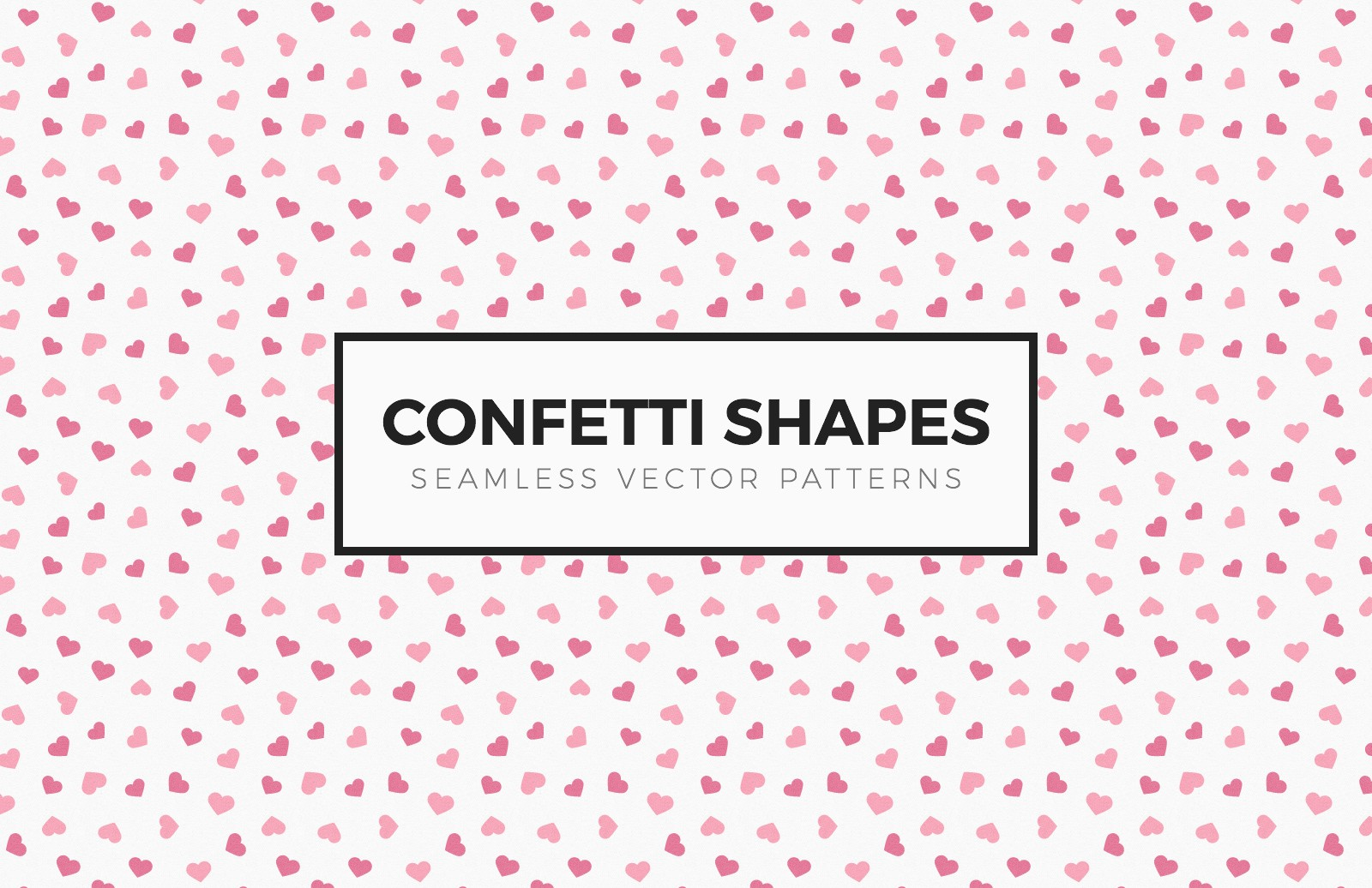 Confetti Shapes Seamless Patterns 2