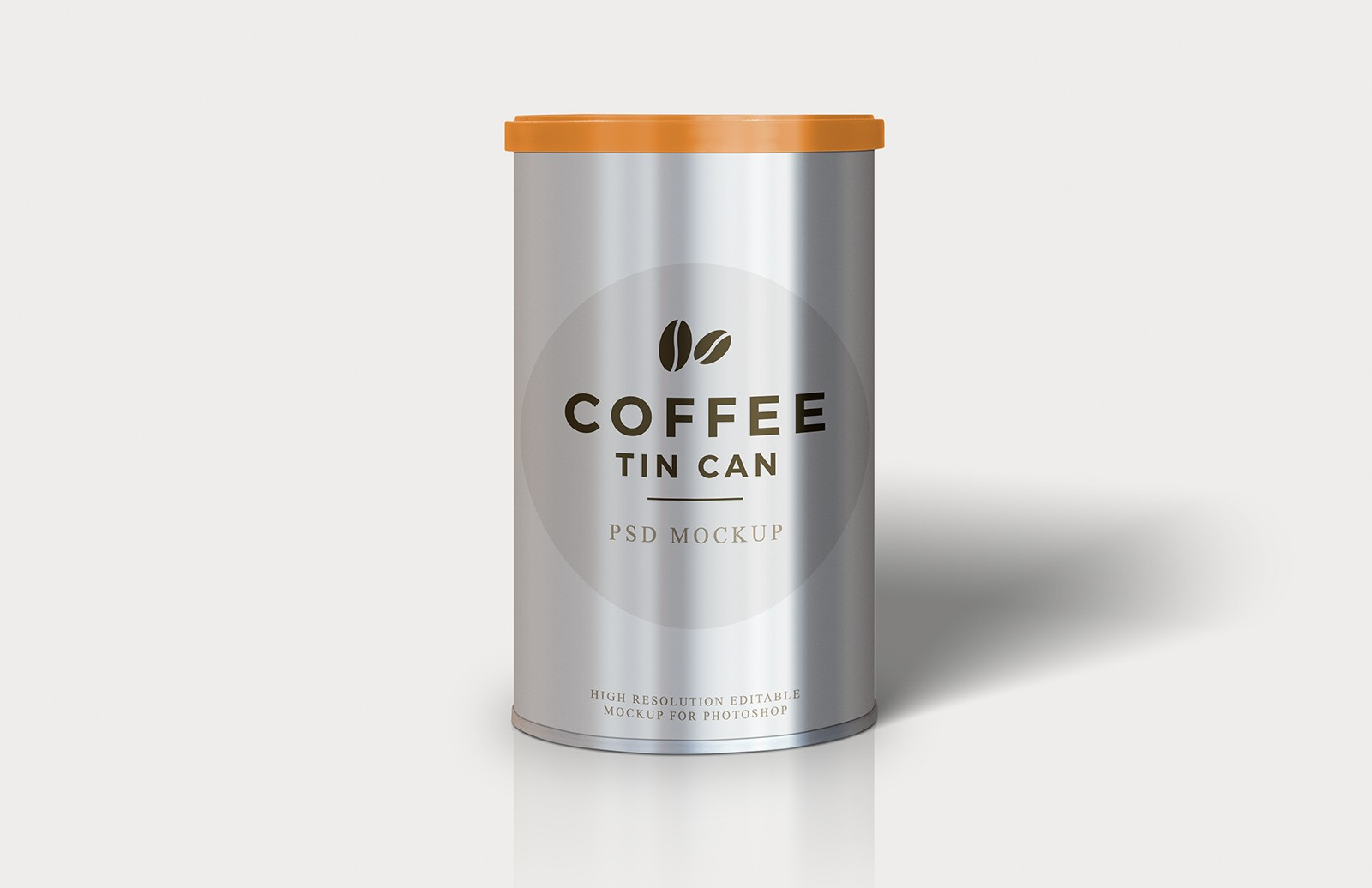 Coffee Tin Can Mockup