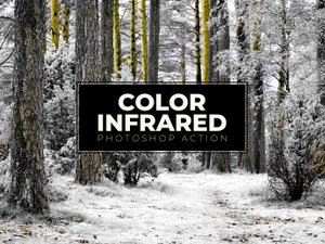 Color Infrared Photoshop Action 1