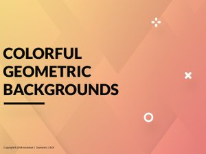 Colorful Geometric Backgrounds 1