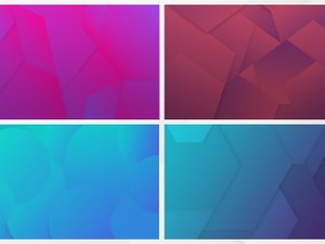 Colorful Geometric Backgrounds 2