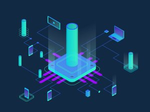 Colorful Isometric Technology Vectors 2