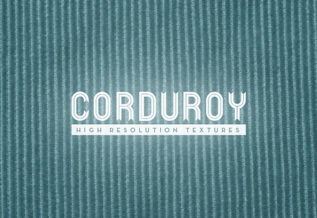 Corduroy Texture Pack