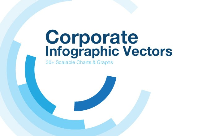 Corporate Infographic Vectors