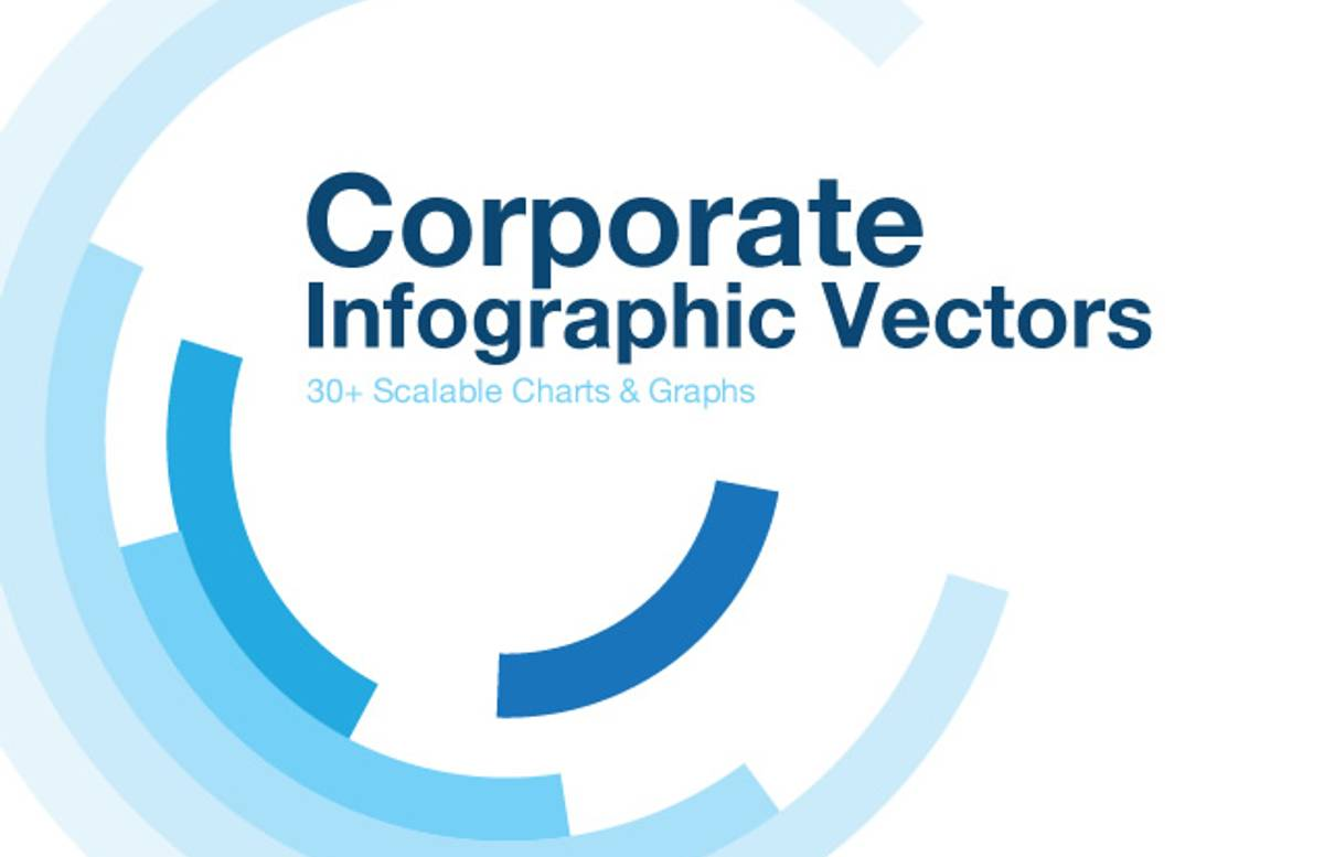 Corporate  Infographic  Vectors  Preview11