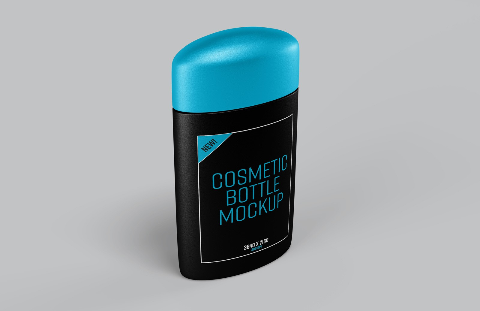 Cosmetic Bottle Photoshop Mockup Preview 1