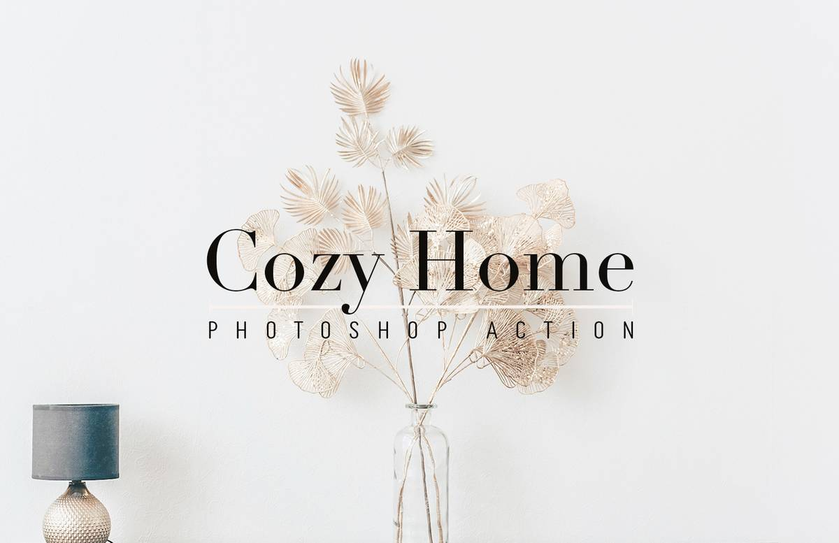 Cozy Home Photoshop Action Preview 1