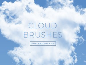 30 Cloud Brushes for Photoshop 1