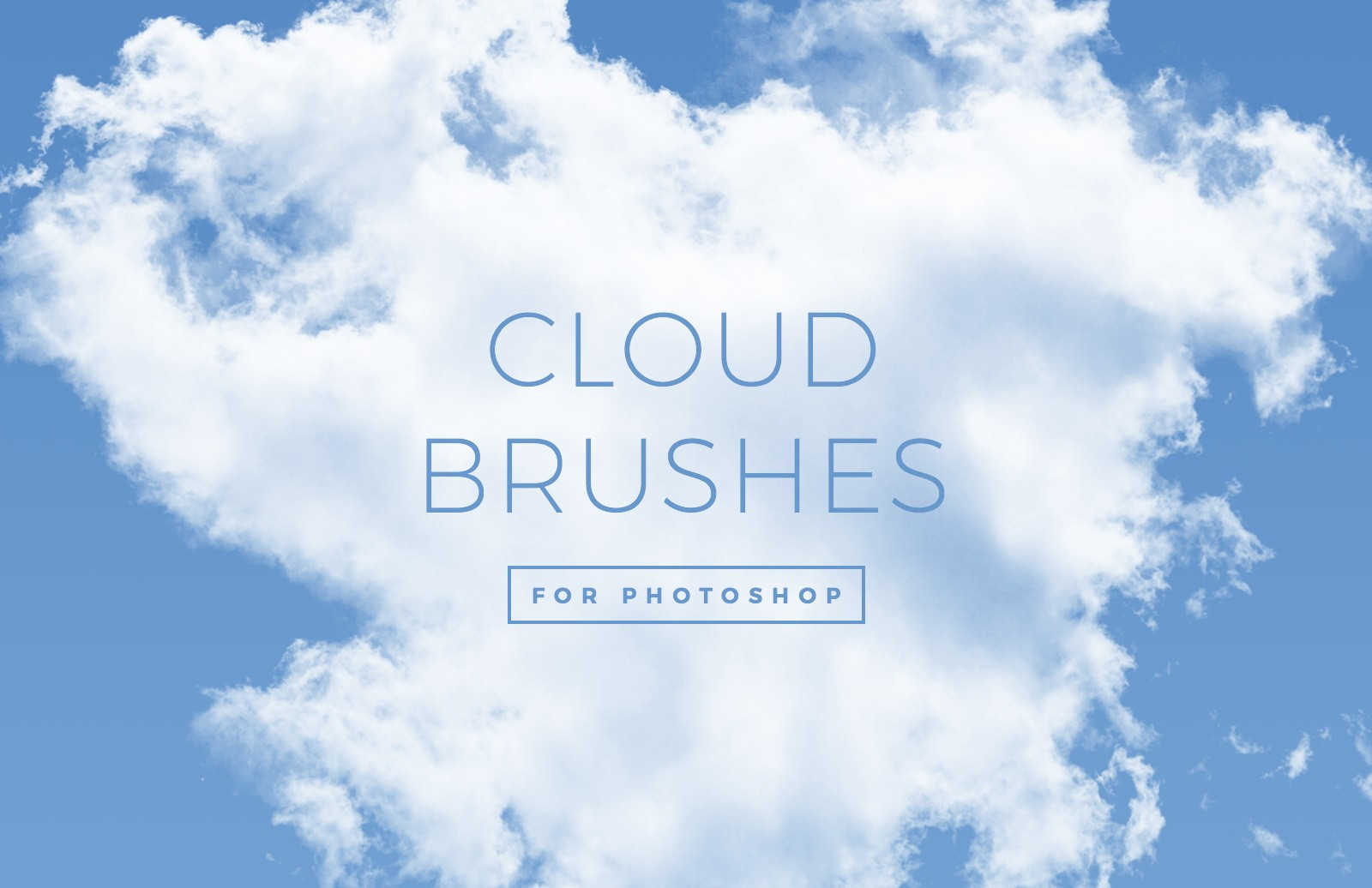 30 Cloud Brushes for Photoshop
