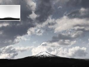 Cloudy Sky Photo Overlays 2