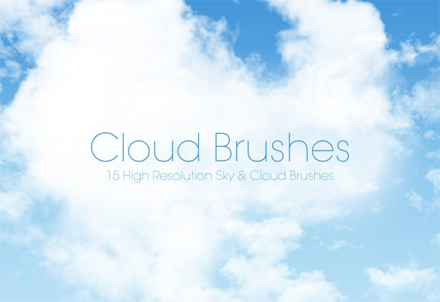Large Cloud  Brushes  Preview1