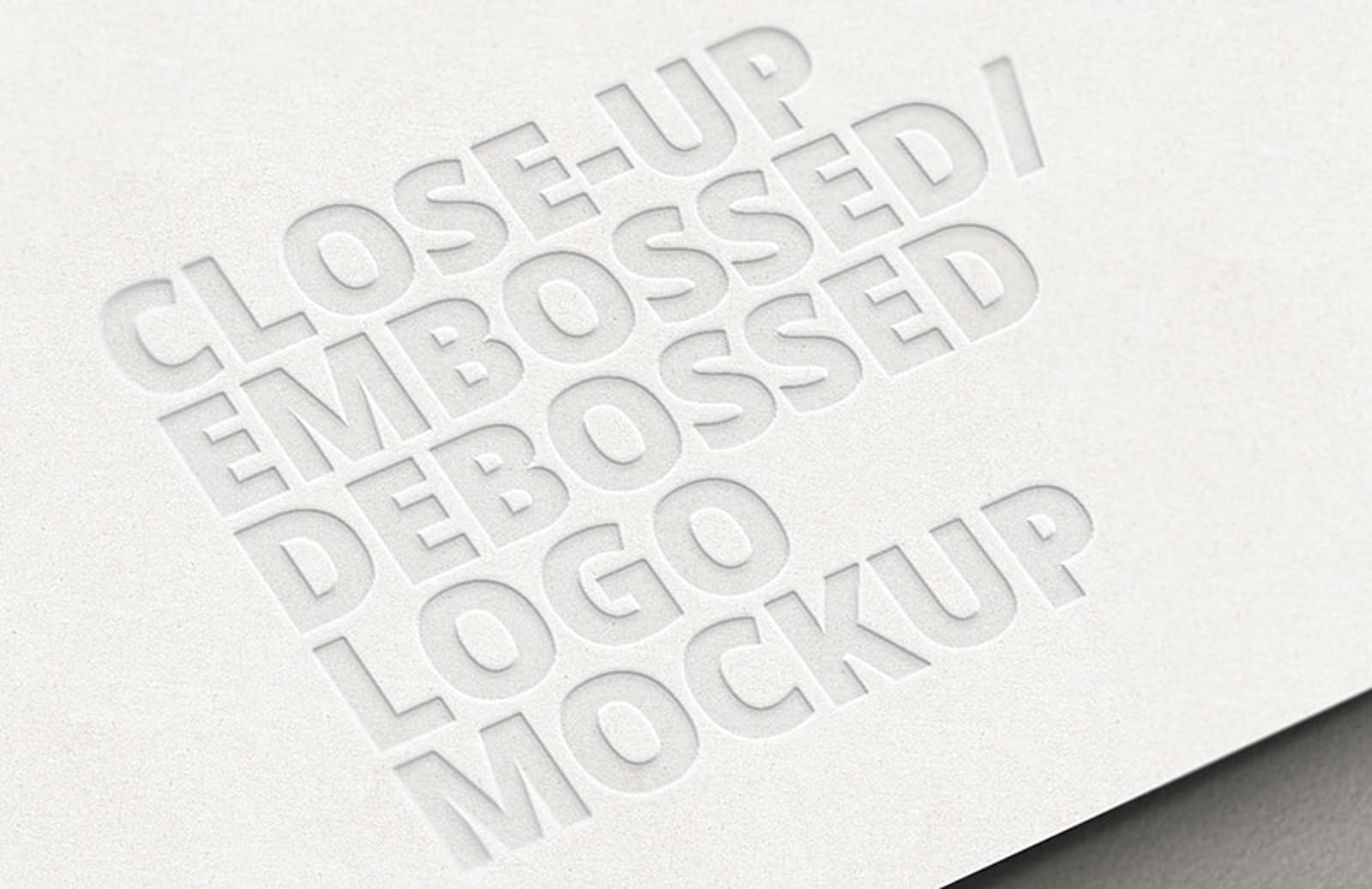 Close Up  Embossed  Debossed  Logo  Mockup 800X518 1