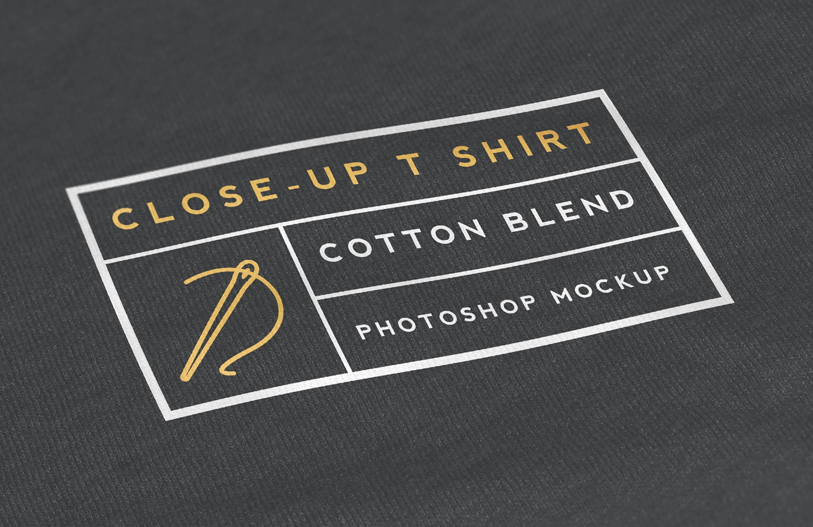 Close  Up  T  Shirt  Mockup  Preview 1