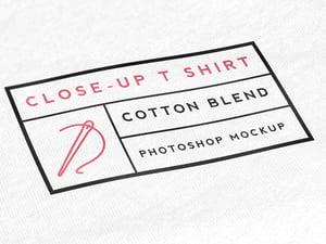 Close-Up T Shirt Mockup 2
