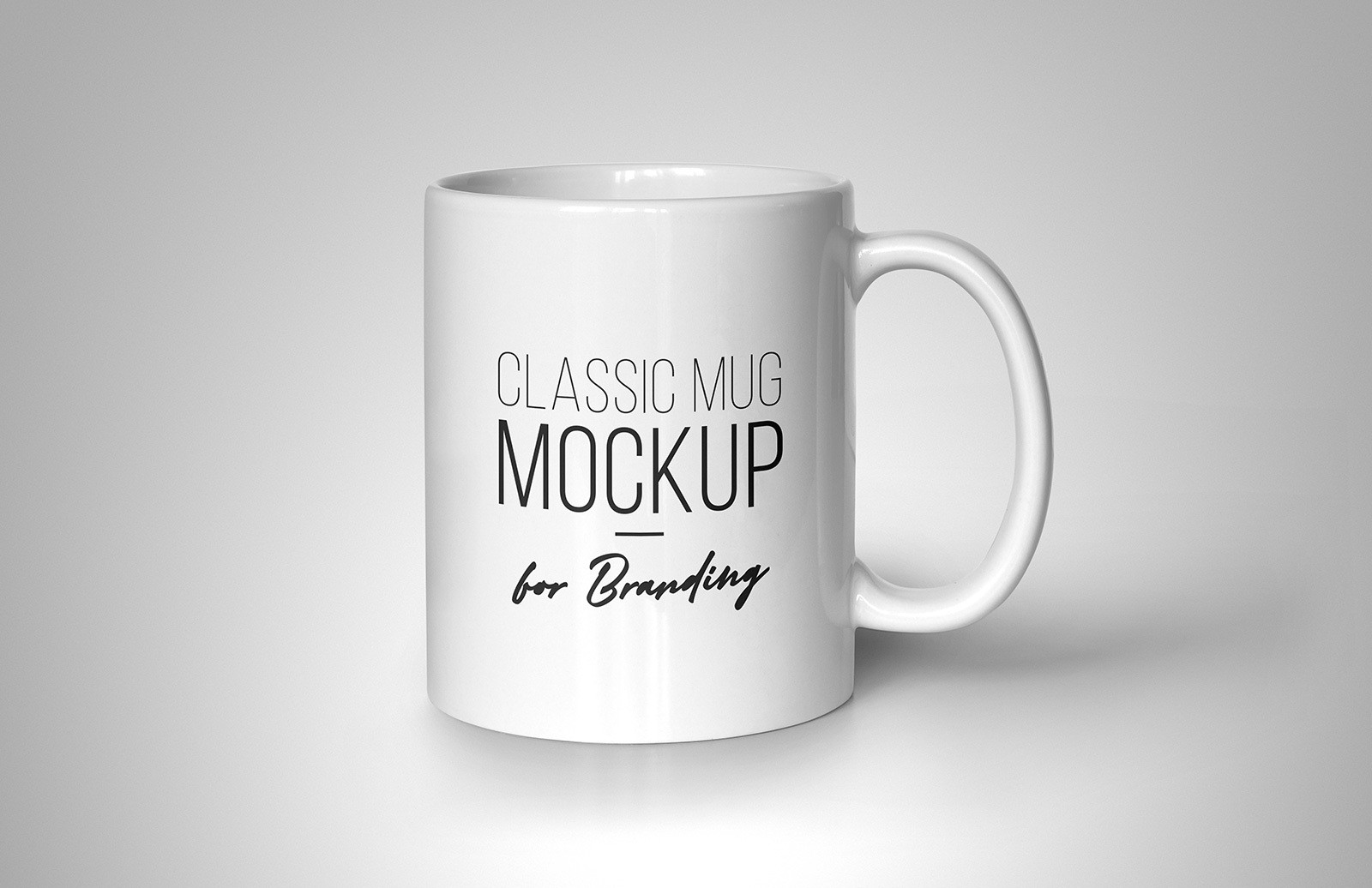 Classic Mug Mockup For Branding Preview 1