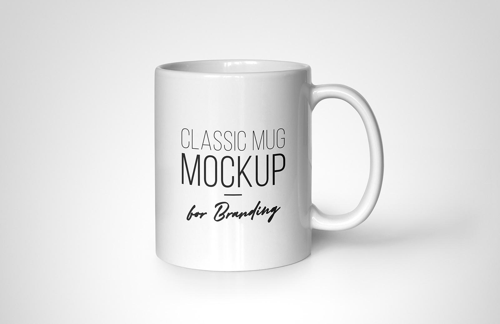 Classic Mug Mockup For Branding Preview V2