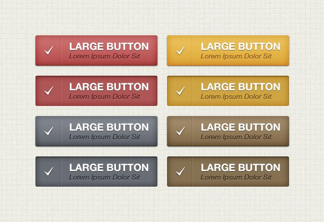 Large Classic  Web  Button  Pack  Preview2