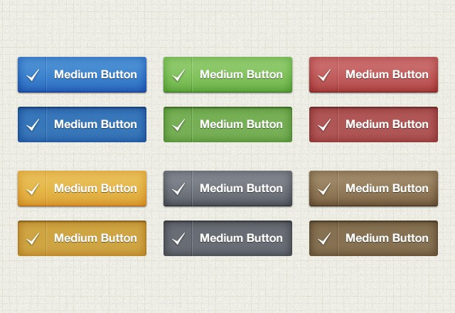 Large Classic  Web  Button  Pack  Preview3