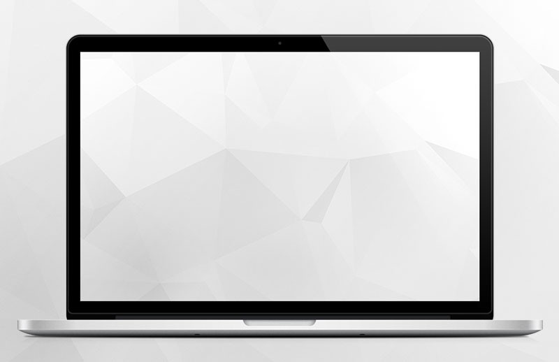 Clean White Polygon Backgrounds 1