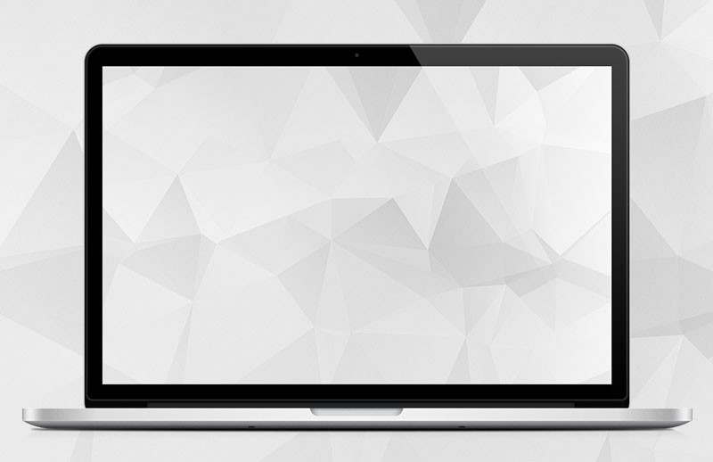 Clean White Polygon Backgrounds 2