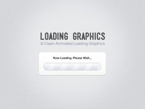 Clean Animated Loading Graphics 1